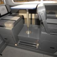 Reversable Dinette Seating