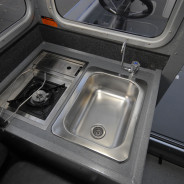 Sink and Stove