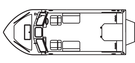 Advantage Inboard Jet technical drawing