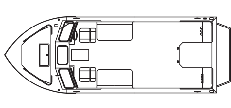 Ultra Magnum Inboard Jet technical drawing