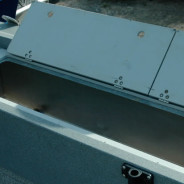 Transom Fish Box