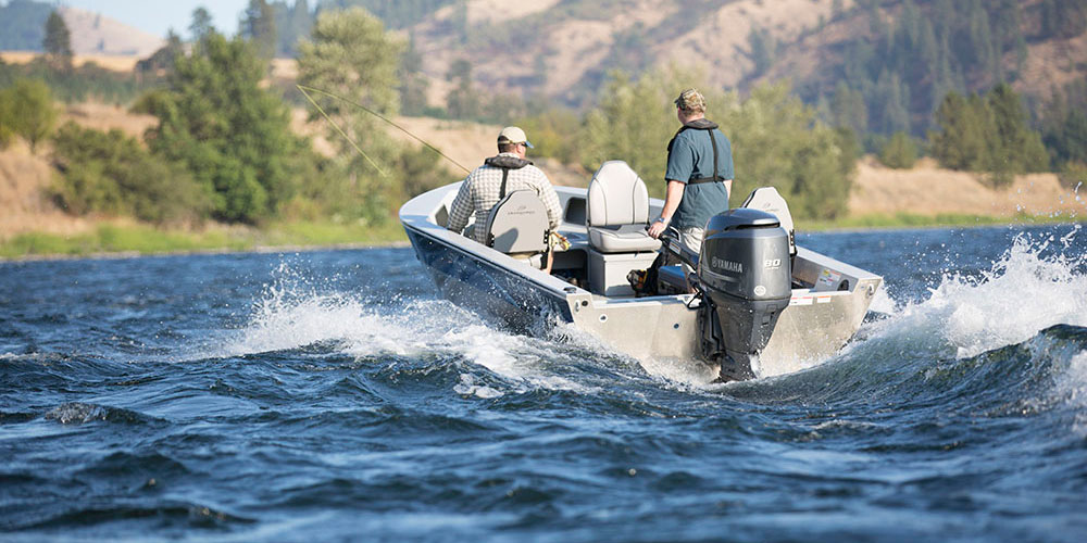 Advantage Outboard Tiller - Duckworth Aluminum Boats