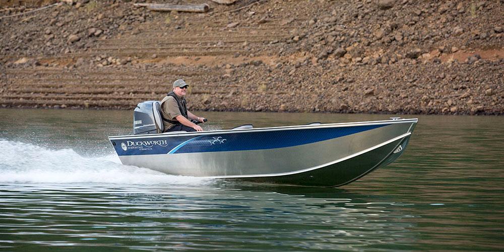 Advantage Outboard Tiller - Duckworth Aluminum Boats