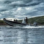 18 Advantage Outboard Tiller