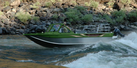 Advantage Inboard Jet - Duckworth Welded Aluminum Boats