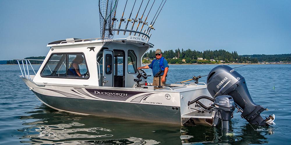 Pacific Pro - Duckworth Welded Aluminum Boats