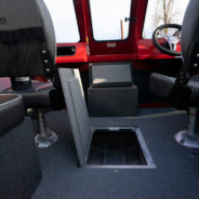 Underfloor storage compartments